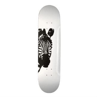 zebra custom skateboard
