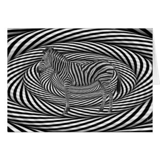 Zebra Dazzle Card