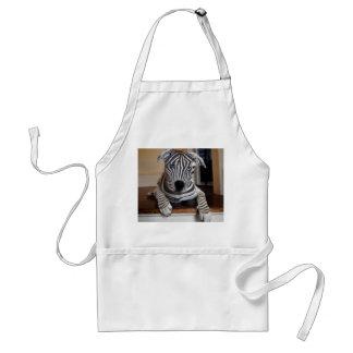 Zebra Dog Standard Apron
