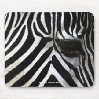 Zebra Eye African Horse Wildlife Mousepad
