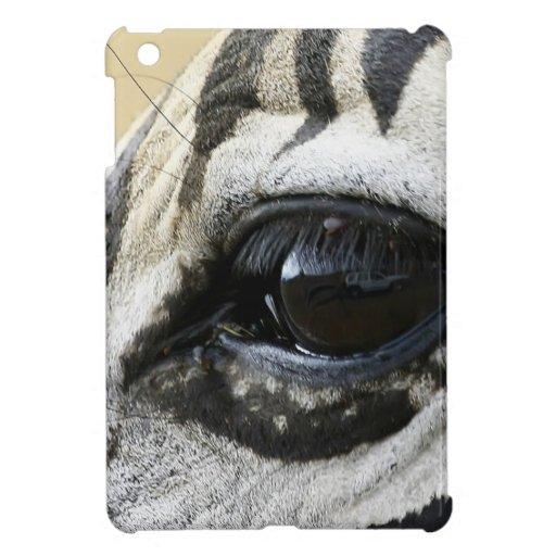 Zebra Eye iPad Mini Cases