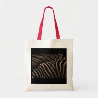 Zebra fabric Bag-stock market zebra Tote Bag