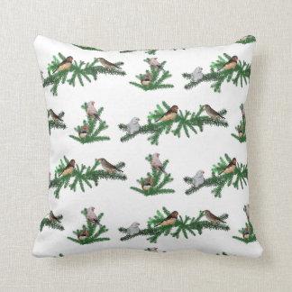 Zebra Finch Party Pillow (choose colour)