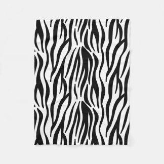 Zebra Fleece Blanket