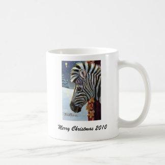 Zebra For Christmas Mug