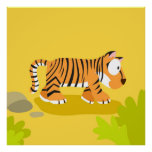 Zebra from my world animals serie print