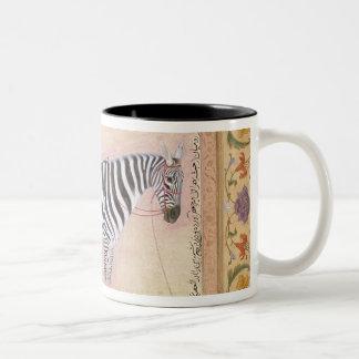 Zebra, from the 'Minto Album', 1621 (gouache on pa Two-Tone Coffee Mug
