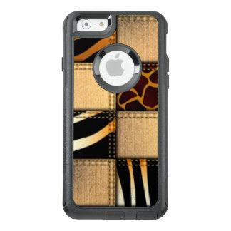 Zebra Giraffe Animal Print Jeans Collage OtterBox iPhone 6/6s Case