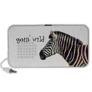 Zebra - Goin Wild Notebook Speakers