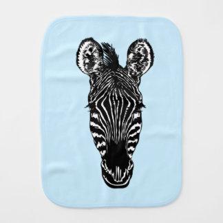 Zebra Head Baby Boy Baby Burp Cloths