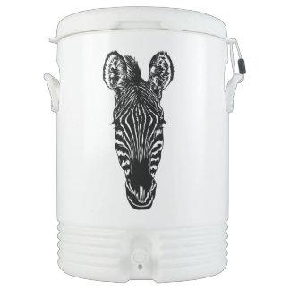 Zebra Head Cooler