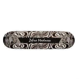 Zebra Head Skateboard