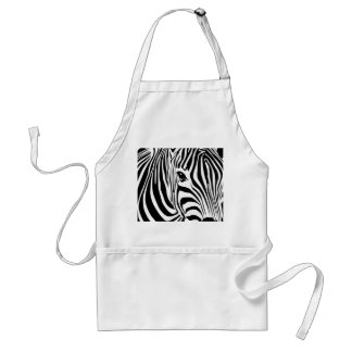 Zebra Head Standard Apron