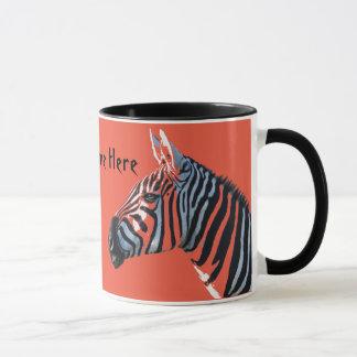 Zebra Heads Mug