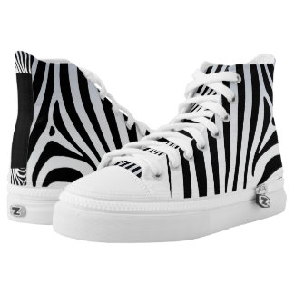 Zebra Hi Top shoe