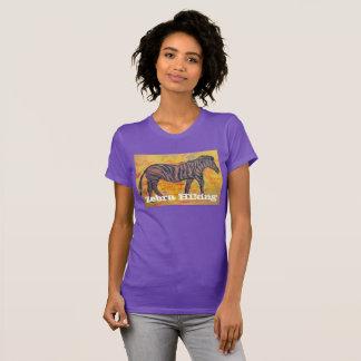 Zebra Hiking T-Shirt