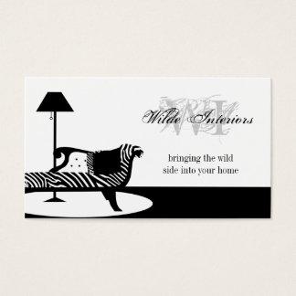 Zebra Interior Design : Business Cards