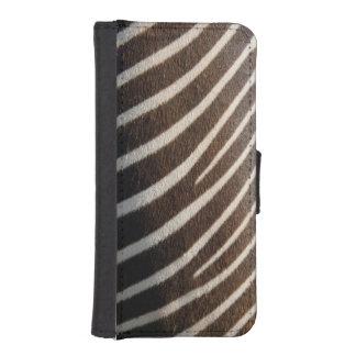 Zebra iPhone SE/5/5s Wallet Case