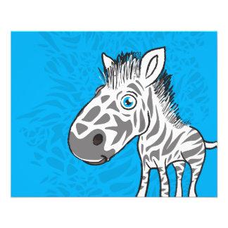 Zebra is Cute Flyer