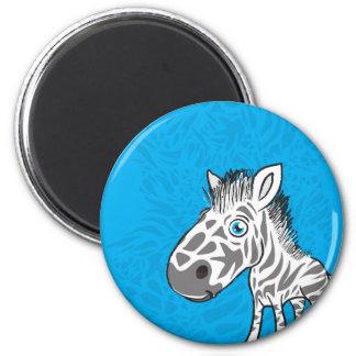 Zebra is Cute Magnet