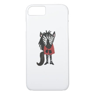 Zebra Jungle Friends Baby Animal Water Color iPhone 7 Case