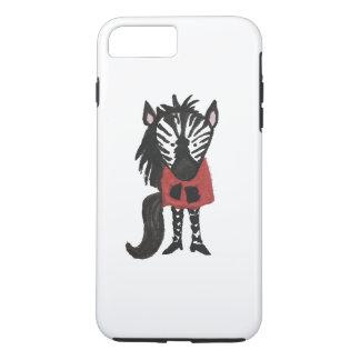 Zebra Jungle Friends Baby Animal Water Color iPhone 7 Plus Case