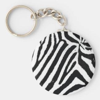 Zebra Key Ring