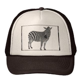 Zebra Lid Trucker Hat