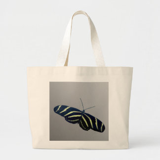 Zebra Longtail Large Tote Bag
