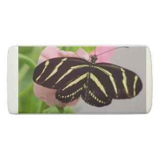 Zebra Longwing Butterfly Eraser