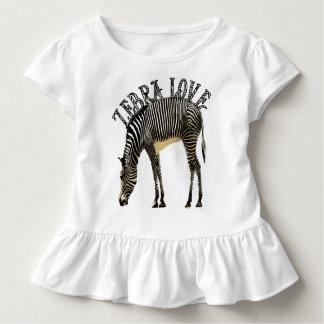 Zebra Love Toddler T-Shirt