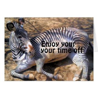 Zebra of love_ card
