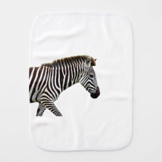 zebra-on-the-masai-mara burp cloth