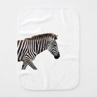 zebra-on-the-masai-mara burp cloths