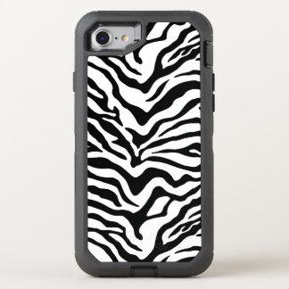 Zebra OtterBox Defender iPhone 8/7 Case