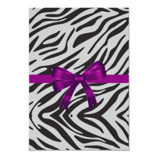 Zebra Party Invitation bachelorette party
