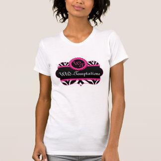 Zebra Pattern and Pink Lace Custom T-Shirt