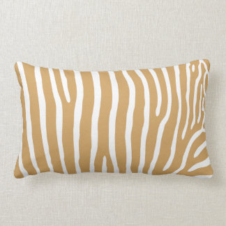 Zebra Pattern Lumbar Pillow
