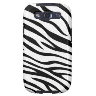 Zebra Pattern - Samsung Galaxy S3 Vibe Case Galaxy S3 Cases
