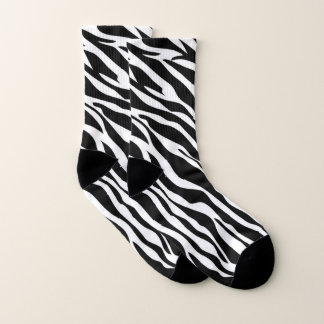 Zebra Pattern Socks 1