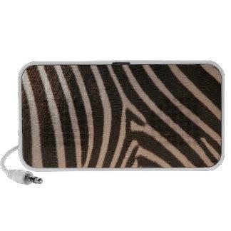 Zebra Pattern Mp3 Speakers