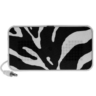 Zebra Pattern Portable Speaker