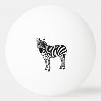 ZEBRA PING PONG BALL