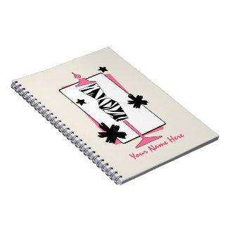 Zebra & Pink Dress Form Mannequin Notebook