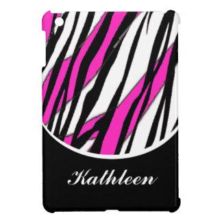 Zebra Pink iPad Mini Covers