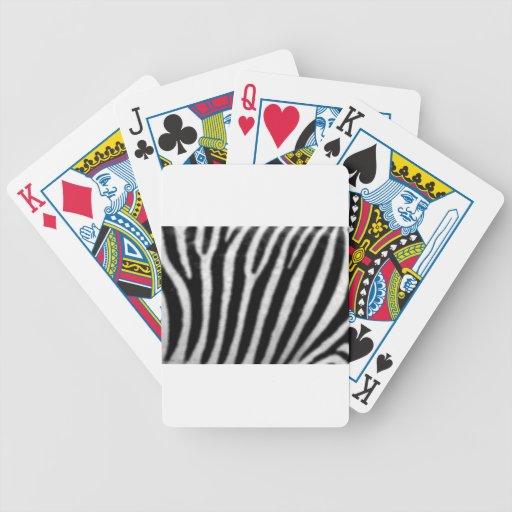 ZEBRA CARD DECKS