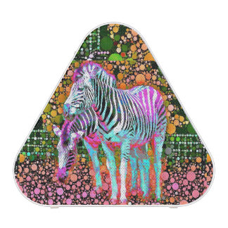 Zebra Pop Art Pieladium Bluetooth Speaker