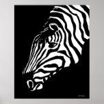 Zebra Poster Art