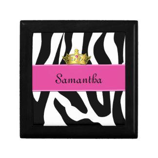 Zebra Princess Tile Box