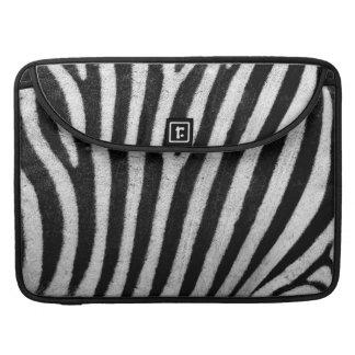 Zebra Print Abstract Macbook Sleeve